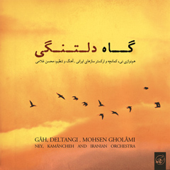 بخشی از قطعه اشکباران.همنوازی نی و کمانچه با ارکستر سازهای ایرانی.آهنگ و تنظیم :محسن غلامی