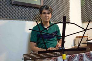 بداهه نوازی آوازی در دستگاه نوا.سنتور محسن غلامی